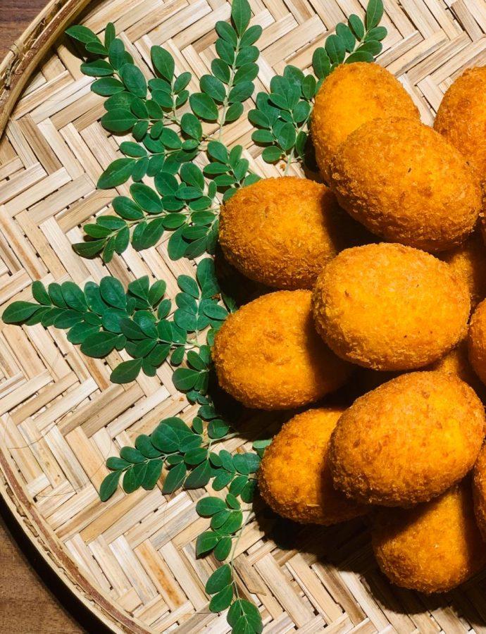 Crispy SriLankan Egg Cutlets