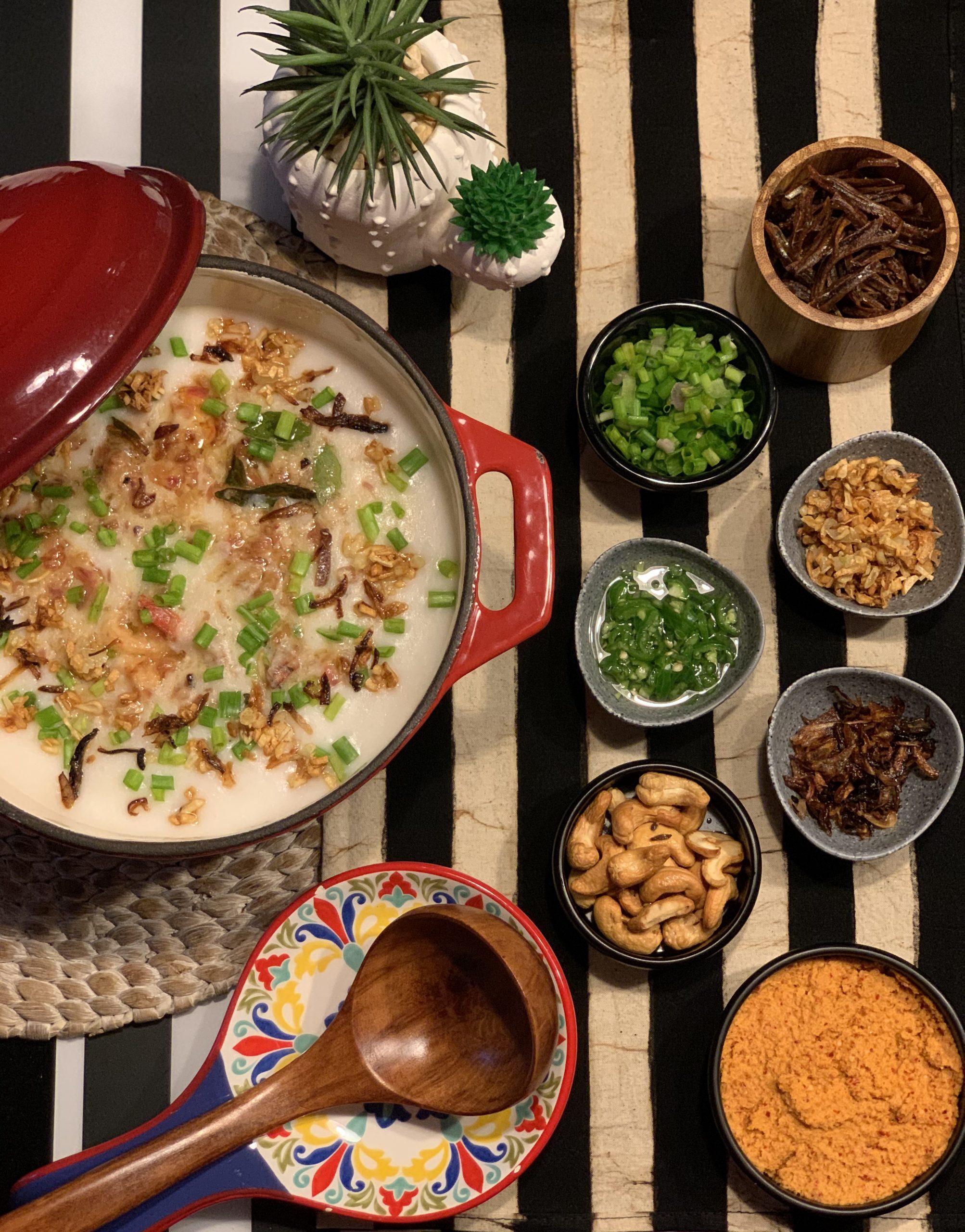 HongKong Inspired Seafood Porridge