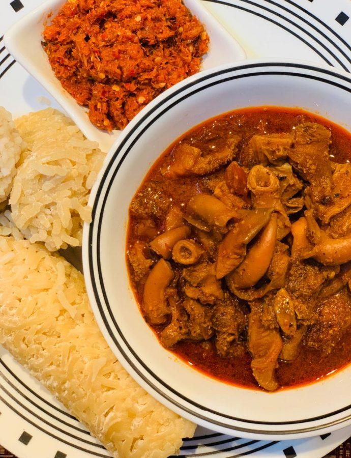 Tripe Curry