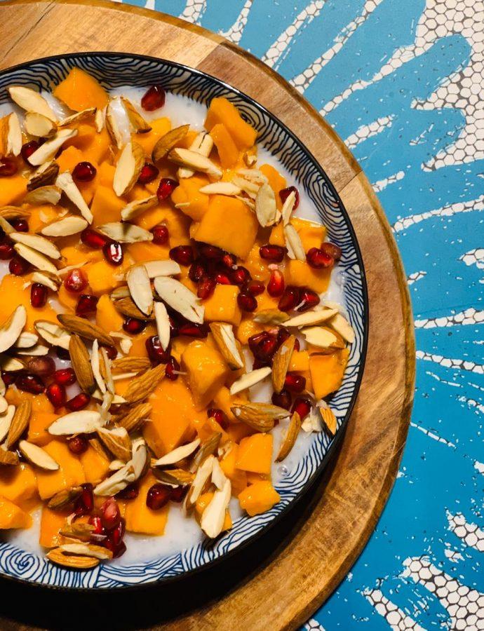 Creamy Coconut Sago Breakfast Bowl
