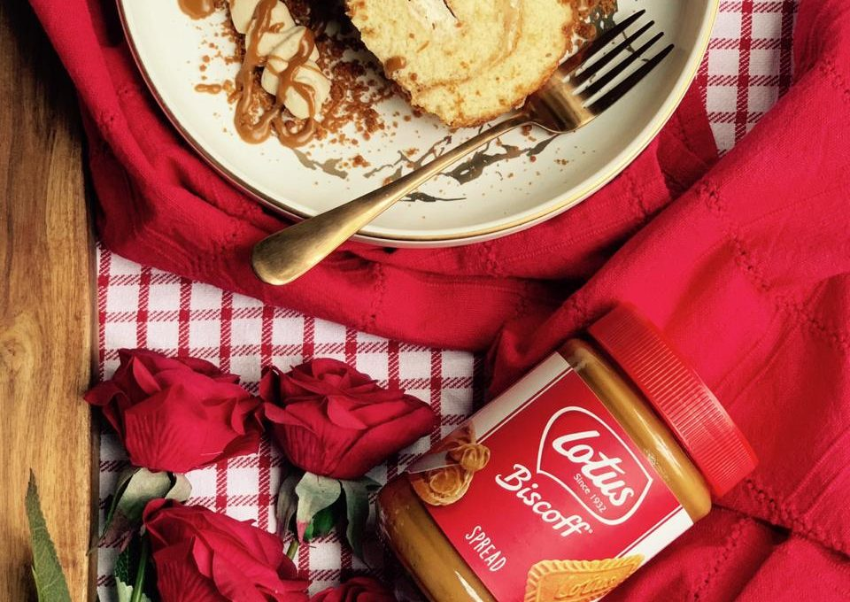 Biscoff Swiss Roll