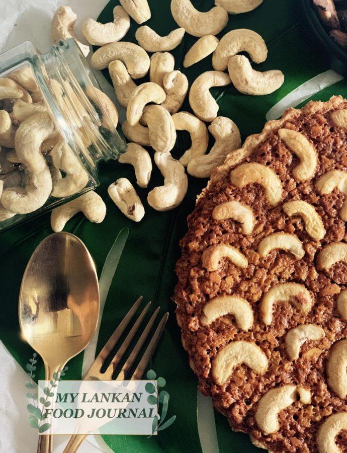 Cashew Tart