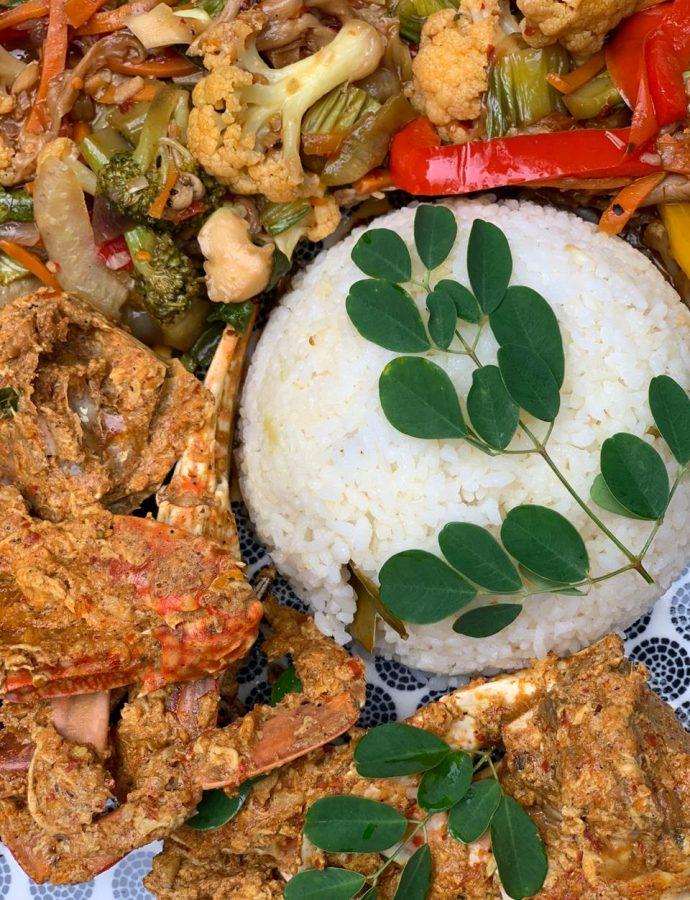 Lankan Chilli Crabs