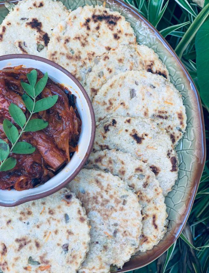 Pol Rotti/Coconut Flat Bread