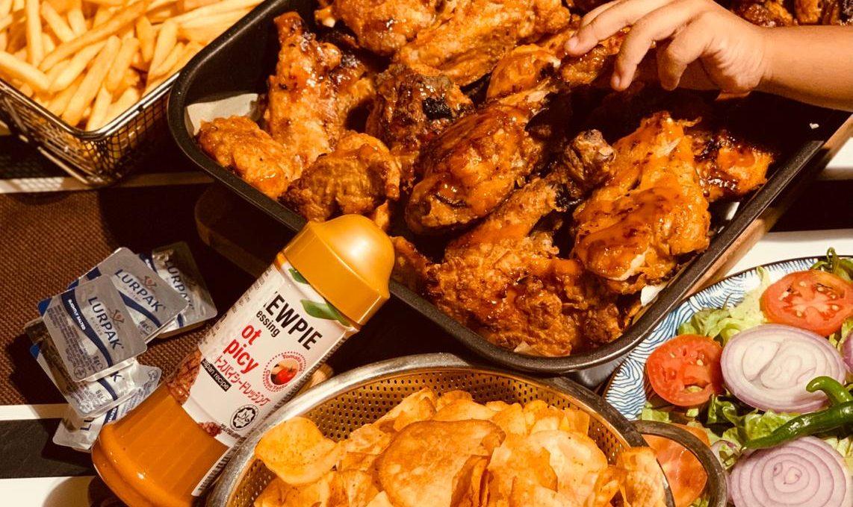Oven Baked Crispy Chicken