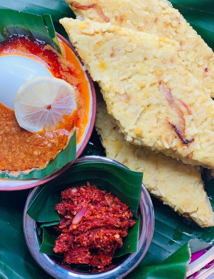 Lentil Milk Rice or Dhal Kiribath