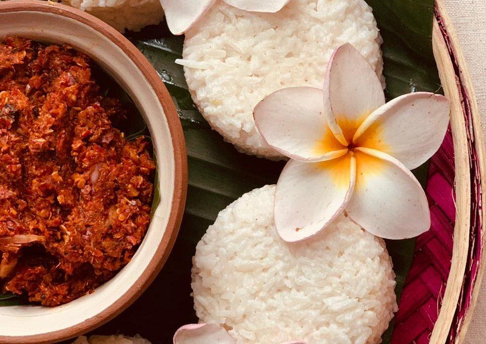 Plain Milk Rice or Kiribath