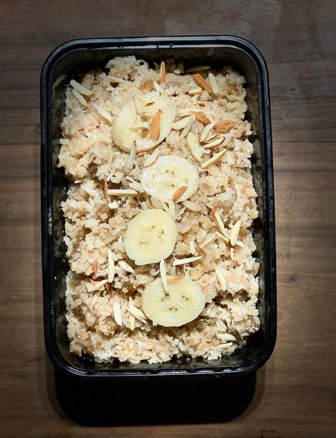 Rice Flakes with Jaggery