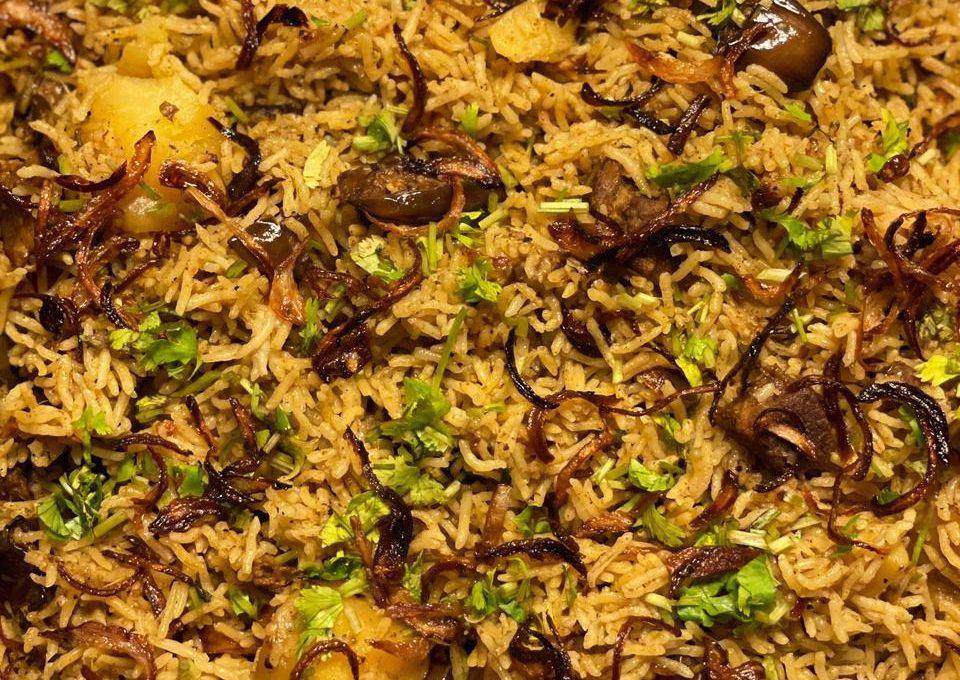 Akhni Rice