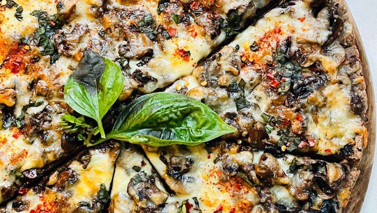 Gluten Free Buckwheat Pizza