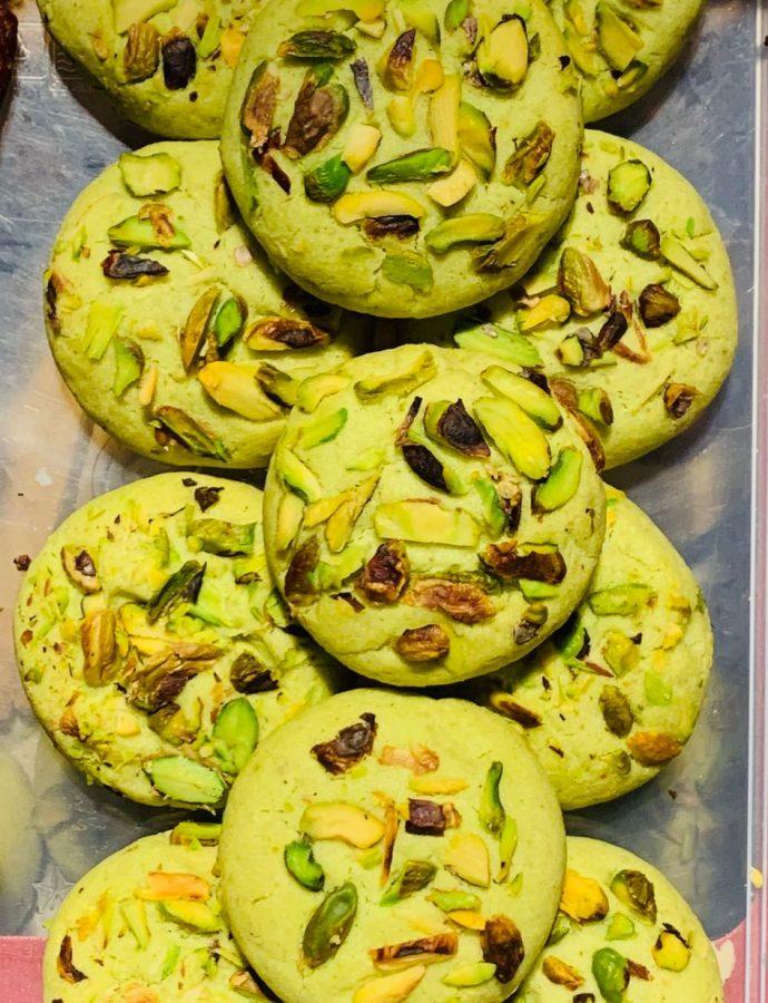 Pistachio Cookies